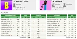8) The Blair Walsh Project vs 7) Dez Dispenser